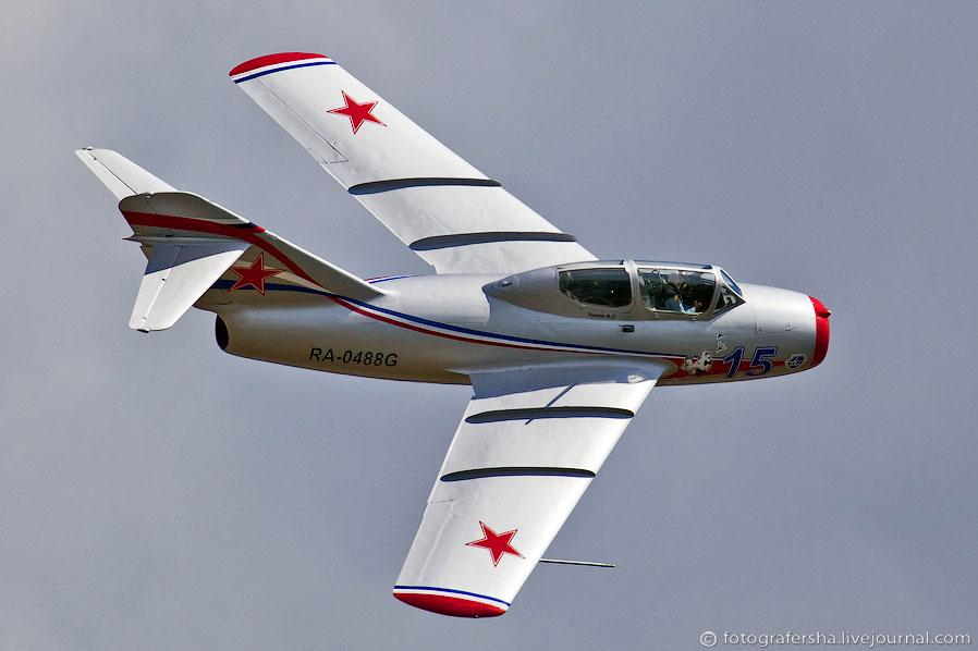 Легендарный советский истребитель МиГ-15