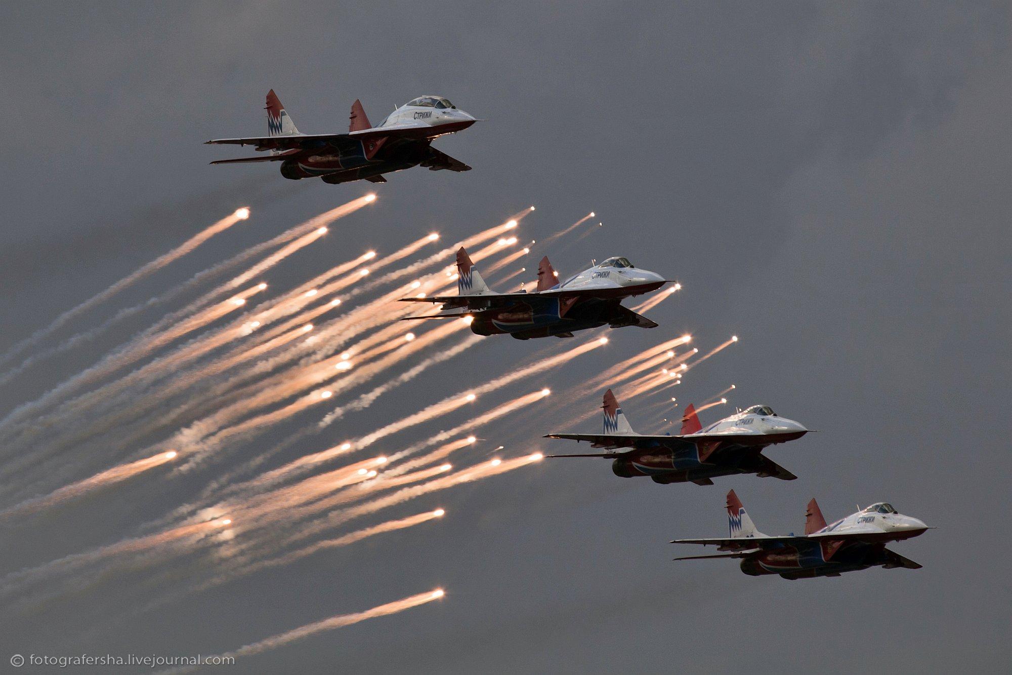 Над Балтийским морем замечена большая группа военных российских самолетов