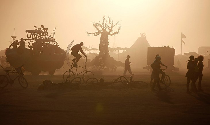 Фестиваль «Горящий человек 2012» в Неваде