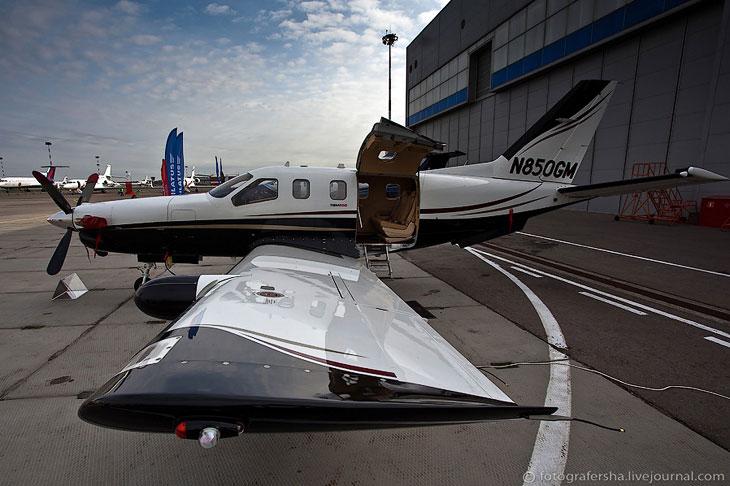 Новинки бизнес авиации на Jet Expo 2012