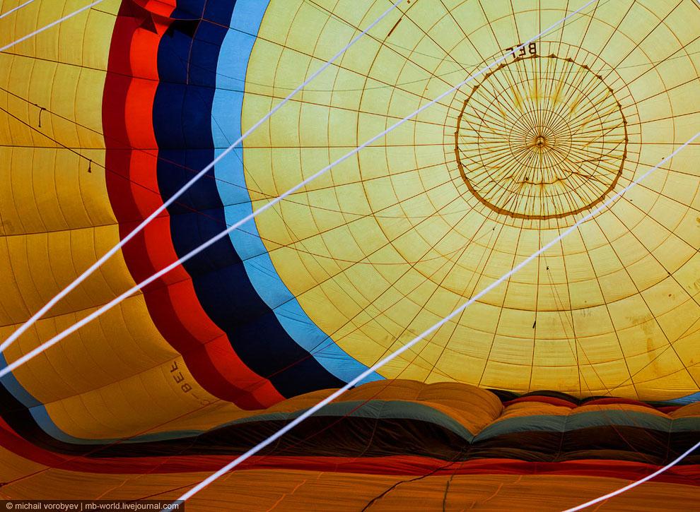 Каппадокия c высоты воздушного шара