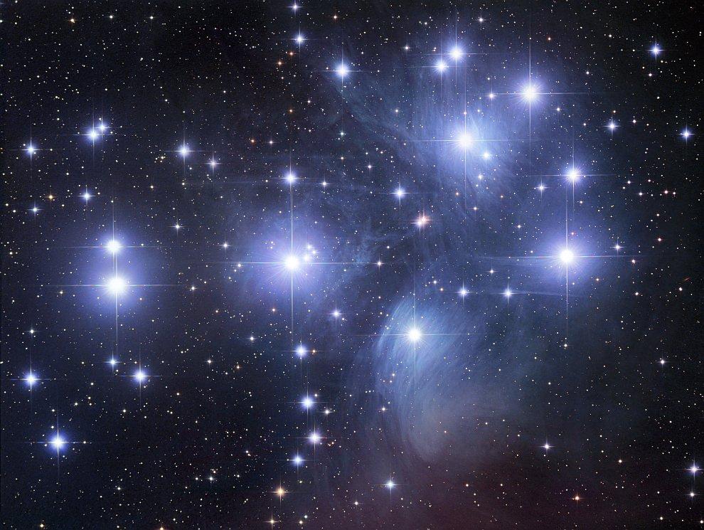 Плеяды (звездное скопление) M45