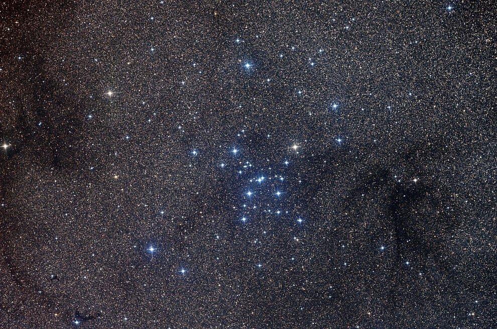 Звездное скопление M7 в Скорпионе