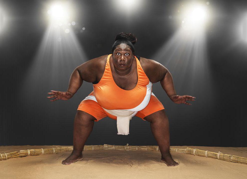 Самая тяжелая женщина-спортсмен