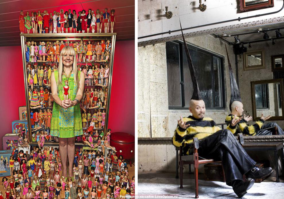 Самая большая коллекция Барби и самая высокая прическа-могикан