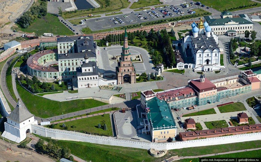 Северная часть Казанского кремля