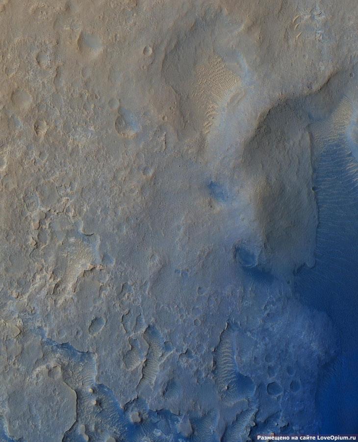 Вертикальная панорамма Марса
