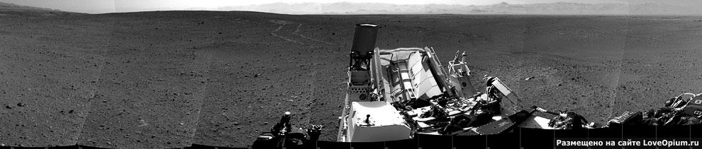 Это самая последняя панорама, полученная с Марса