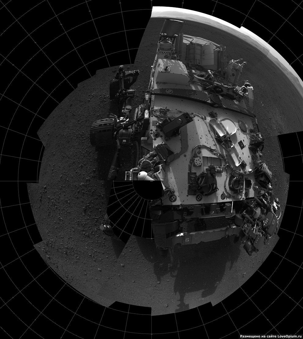 Еще один автопортрет марсохода Curiosity