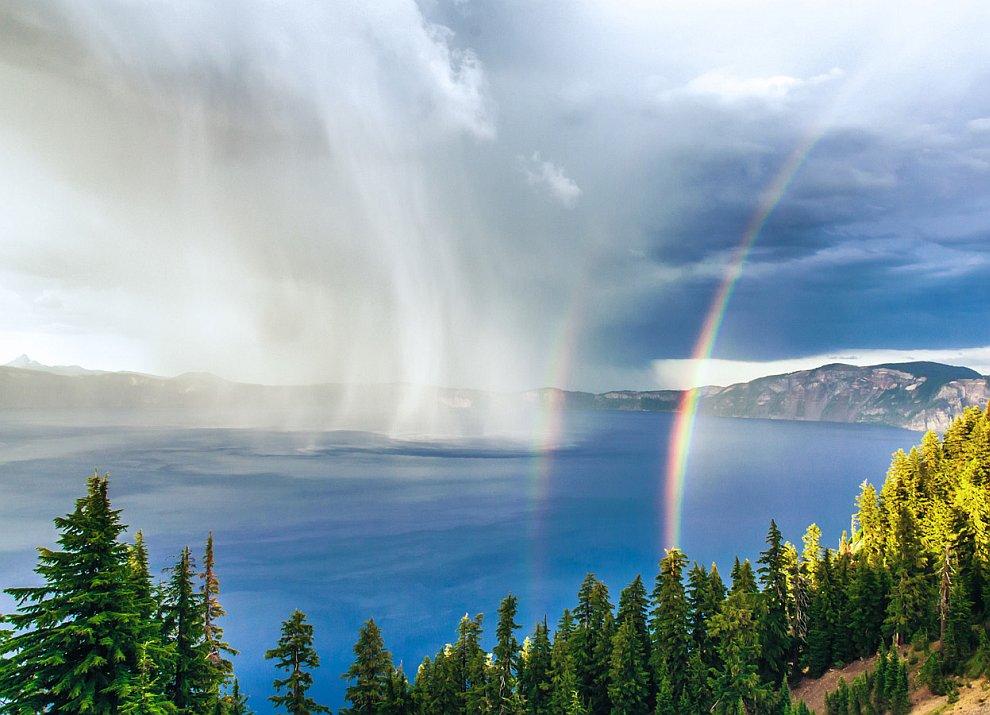 Национальный парк Озеро Крейтер, штат Орегон