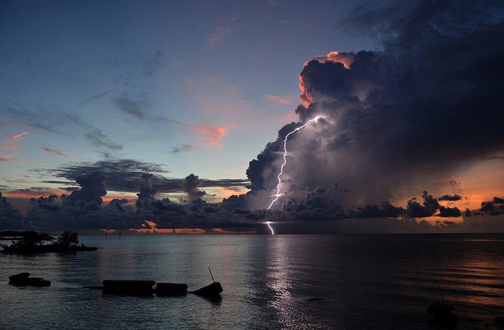 Гроза во Флориде
