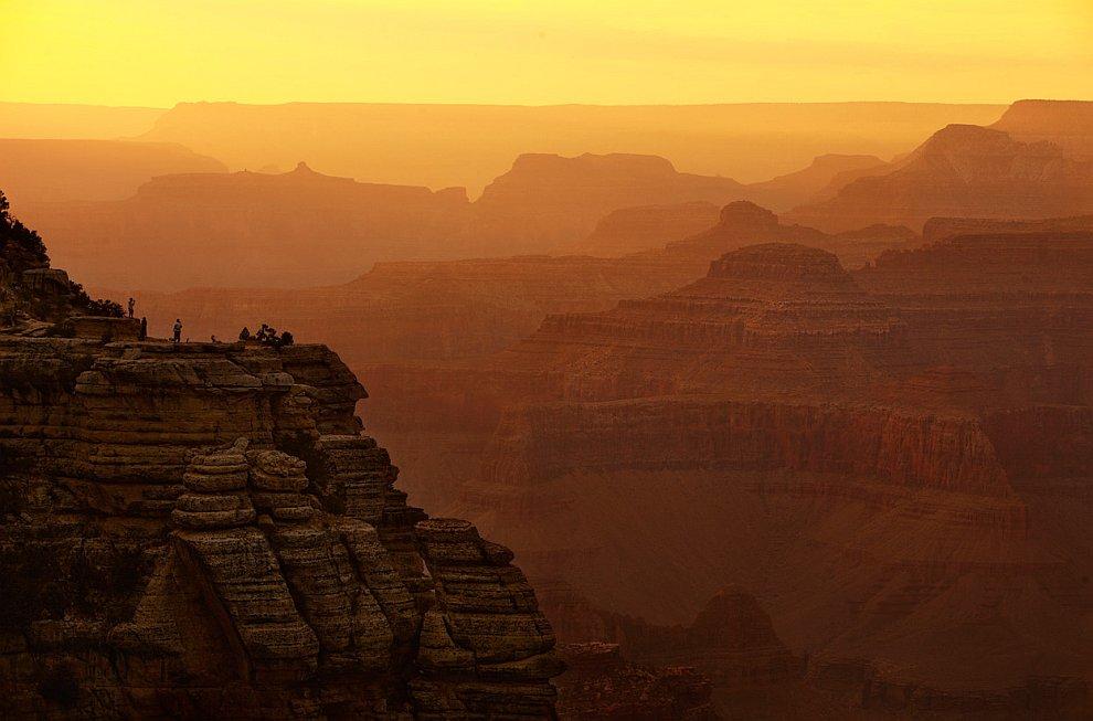 Гранд-Каньон на закате