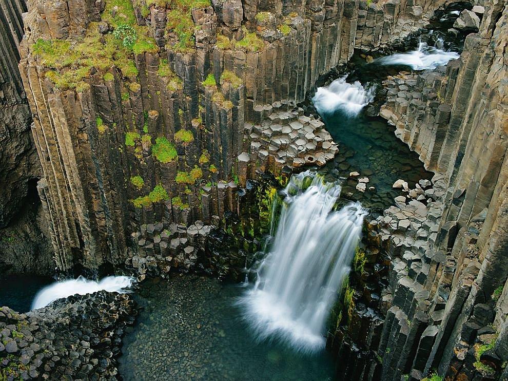 Водопад Литланесфосс, Исландия