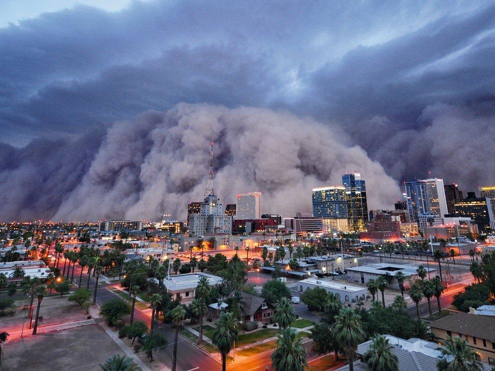 Пыльная буря в Финиксе