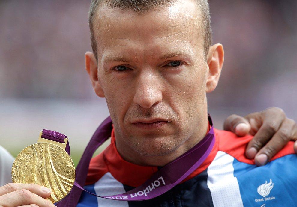 Британец Ричард Уайтхед — паралимпийский чемпион