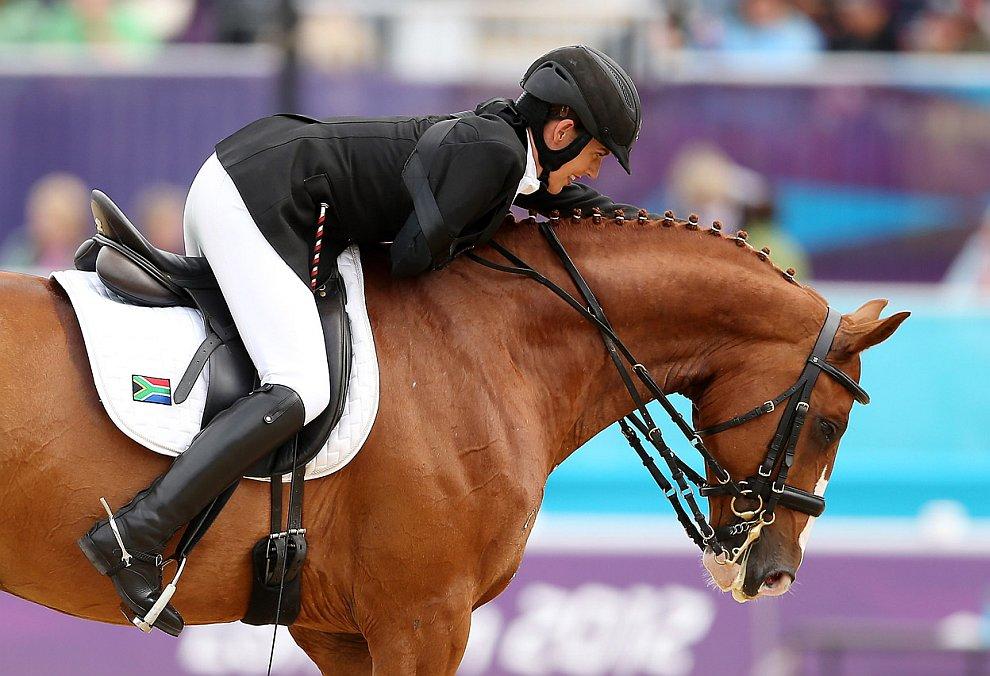 Паралимпийские соревнования в конном спорте