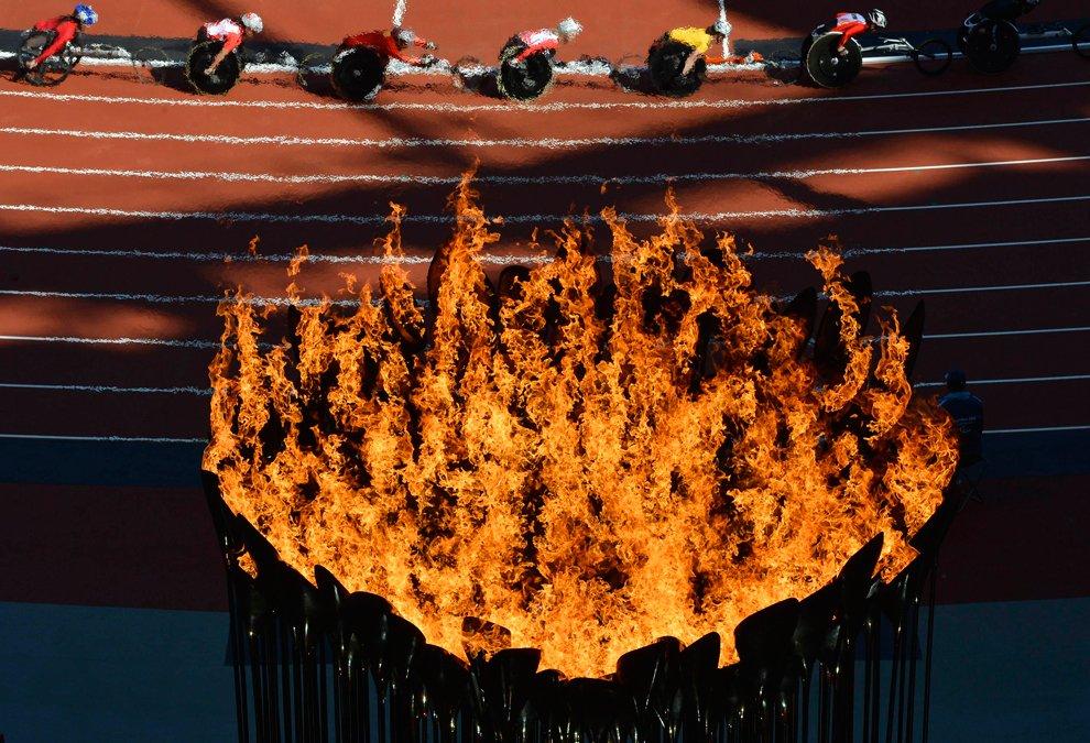 Это был репортаж с Паралимпийских игр 2012 в Лондоне