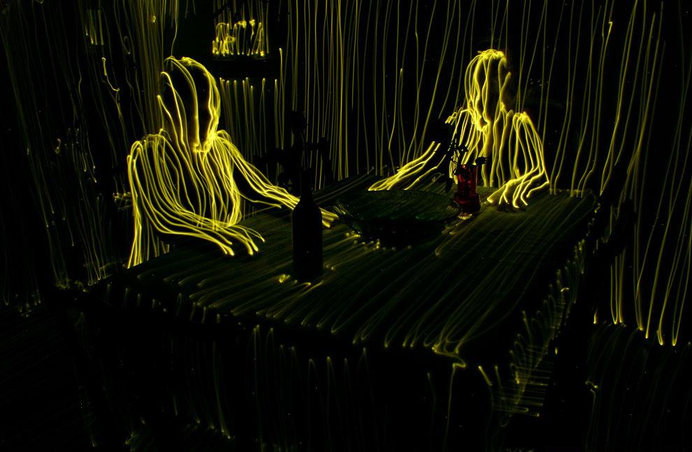Световые картины от Janne Parviainen. Часть 2