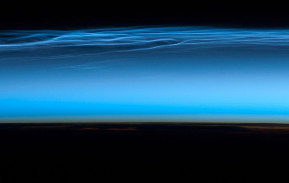 Полярные мезосферные облака
