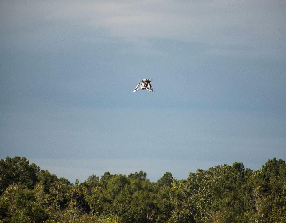 НАСА провело испытания нового прототипа посадочного модуля с пафосным названием «Мощный орел»