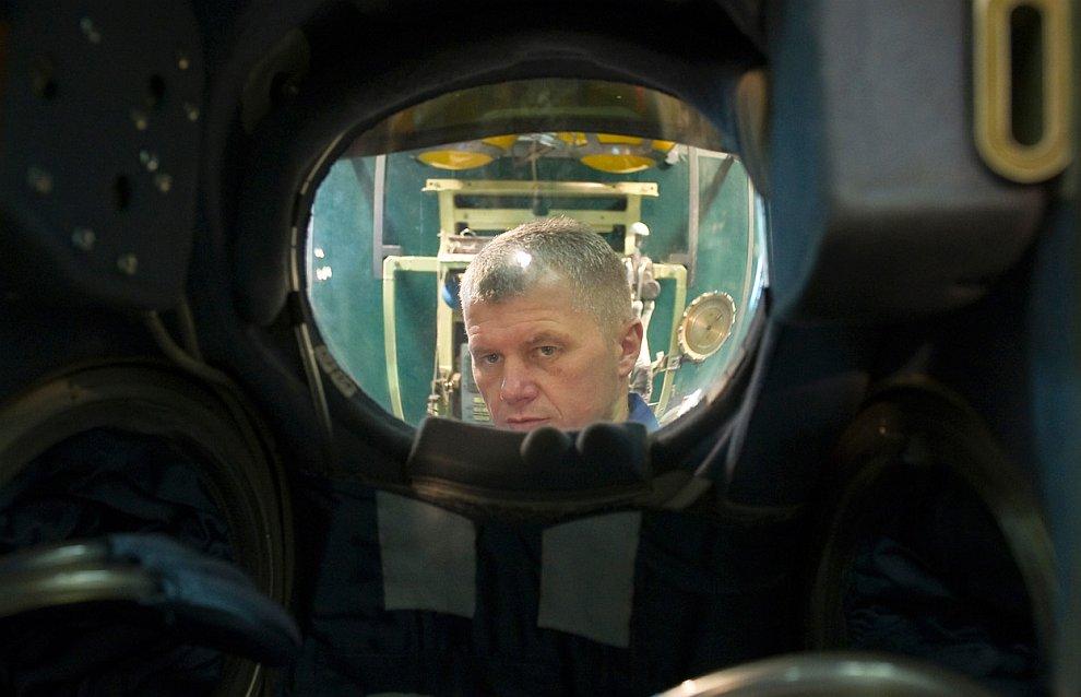 Российский космонавт Олег Новицкий