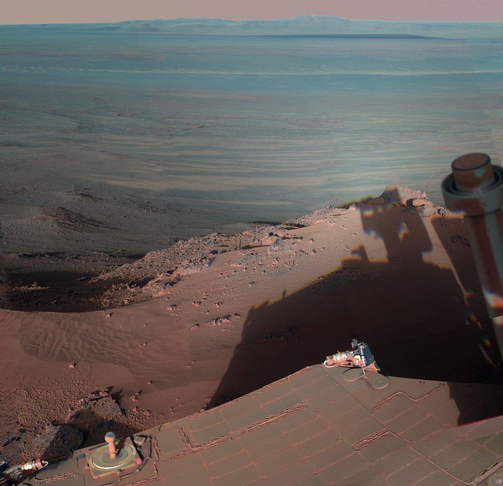 Индевор — ударный кратер на Марсе