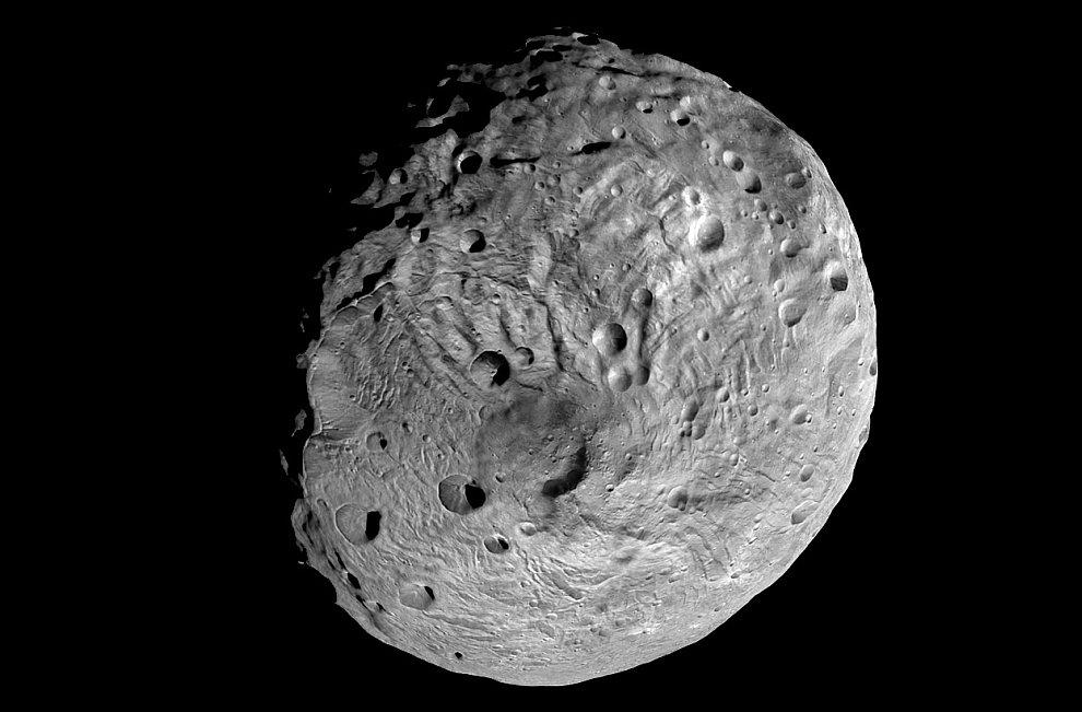Фотография астероида Веста