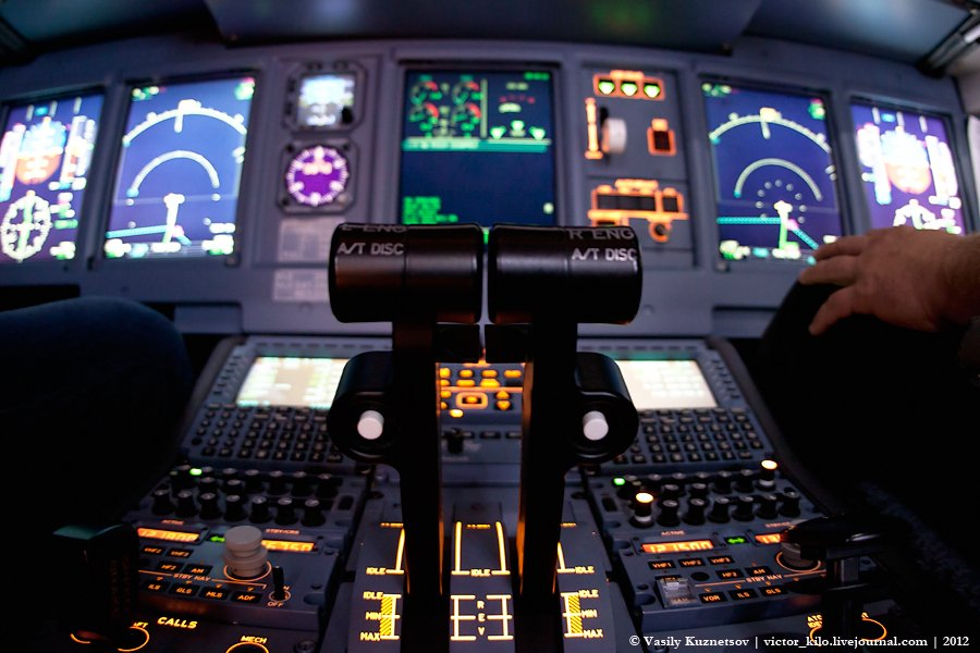 Throttle (Sukhoi SuperJet FFS)