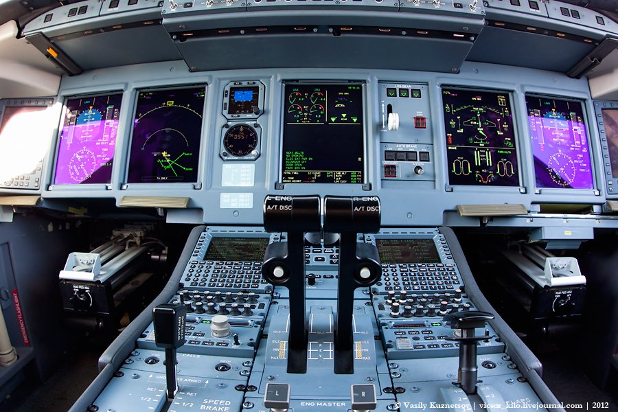 SuperJet cockpit details