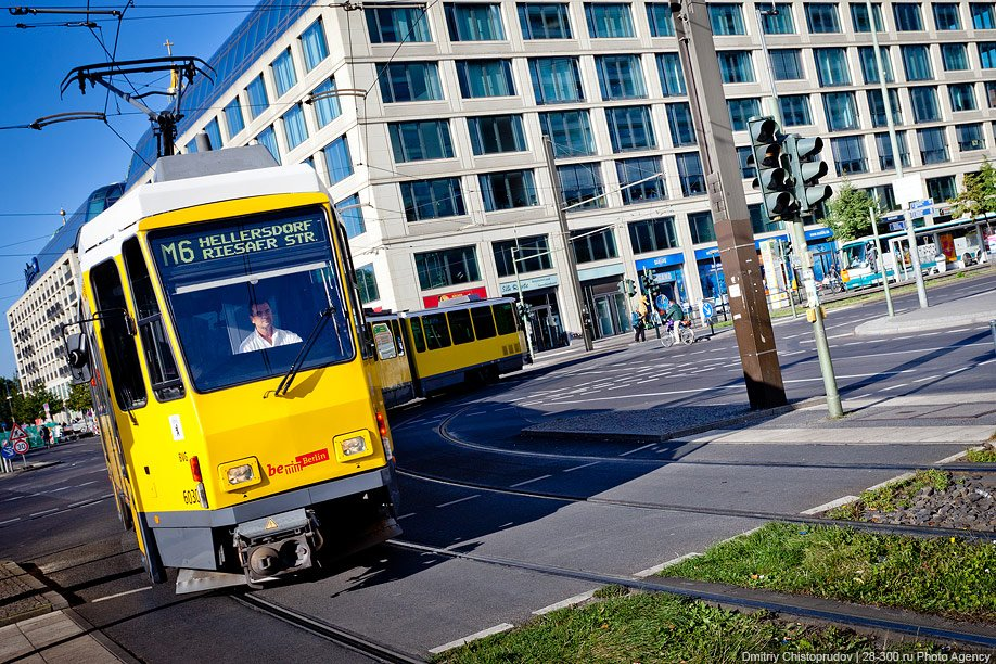 Берлинский трамвай