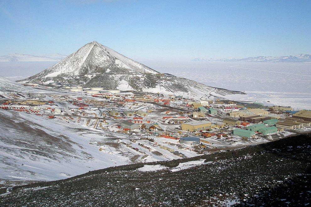 Антарктическая станция Мак-Мёрдо