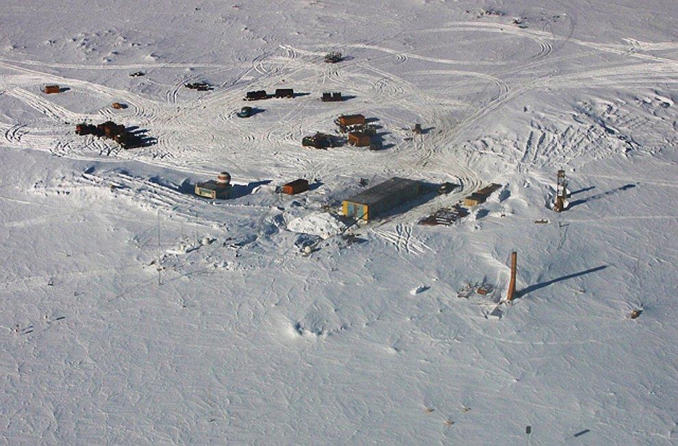 Российская антарктическая станция «Восток»