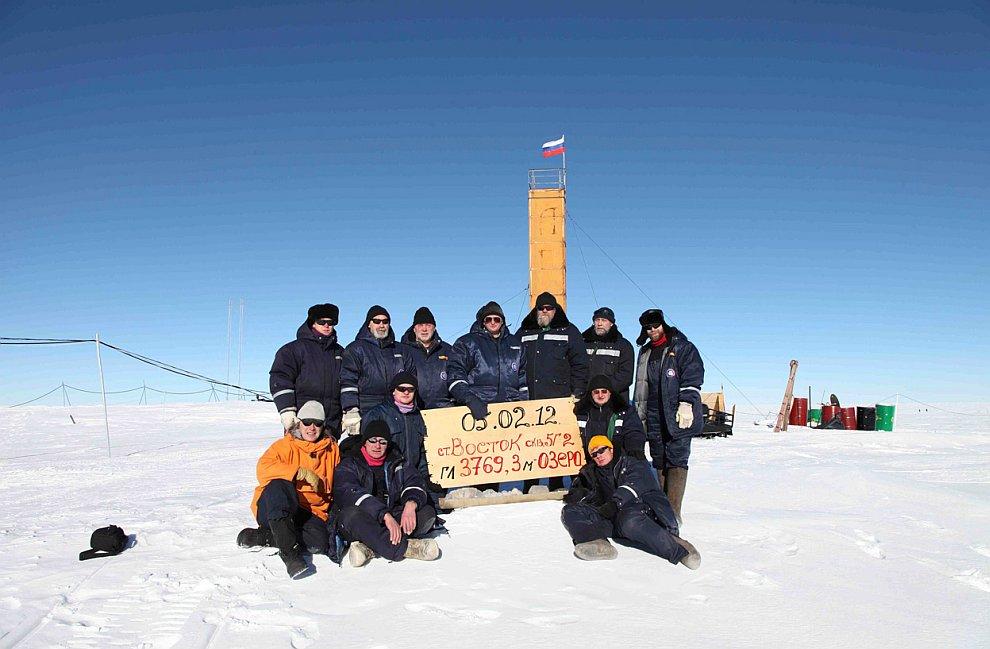5 февраля 2012 российским ученым удалось проникнуть в реликтовое подледное озеро Восток