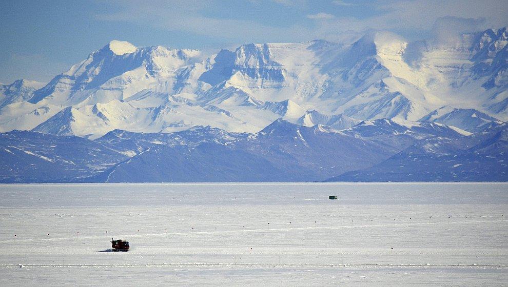 Просторы Антарктиды