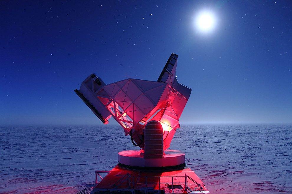 Южный полярный телескоп (SPT)
