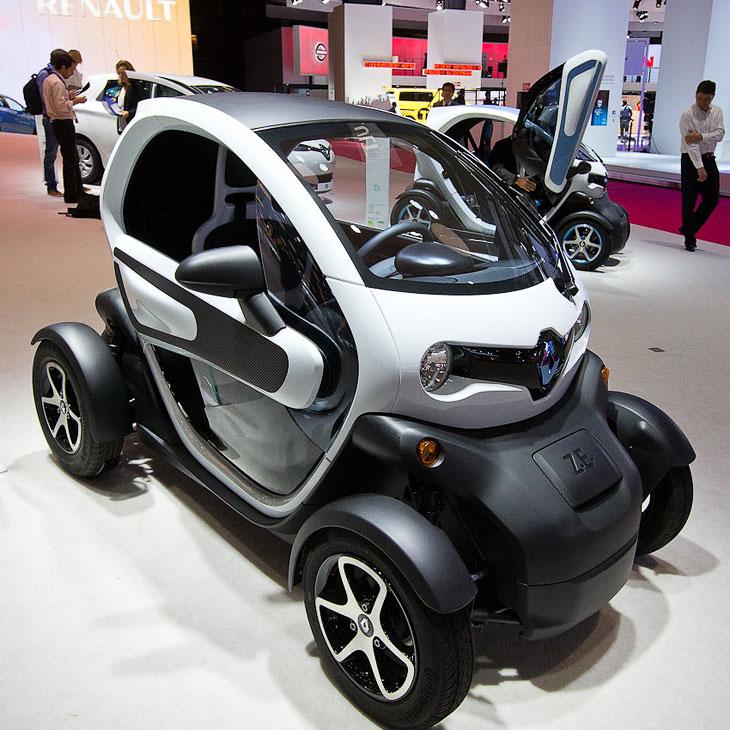 Renault — электромобильчик Twizy