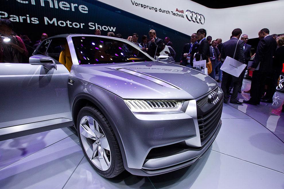 Audi представила спортивный кроссовер-купе Crosslane Coupe
