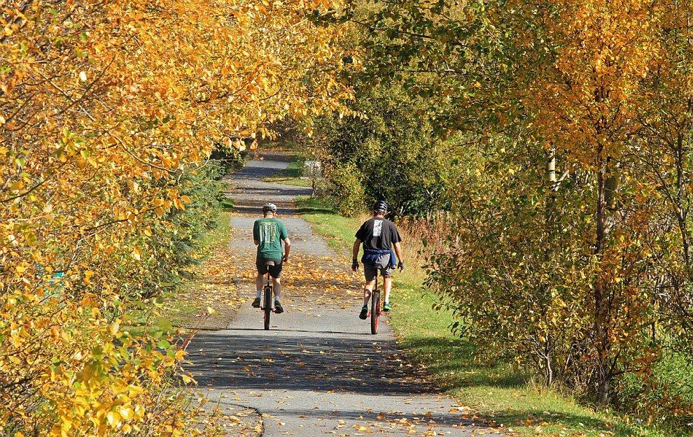 Осенний парк в Анкоридже