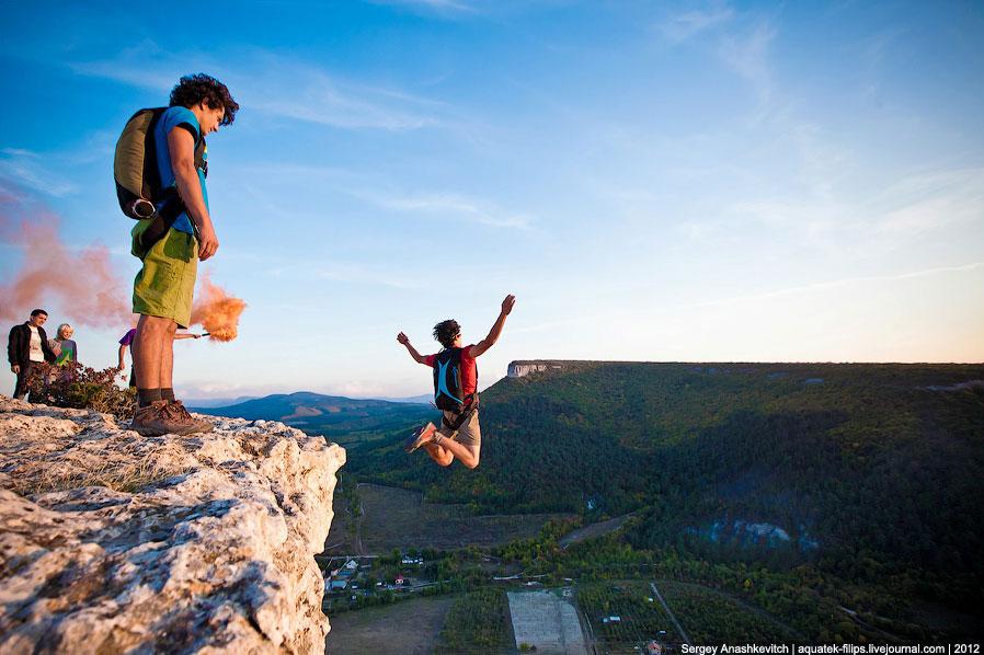 Бейсджампинг — экстремальный вид спорта