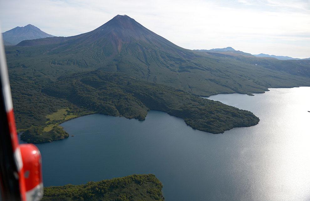 Вулкан Ильинская сопка
