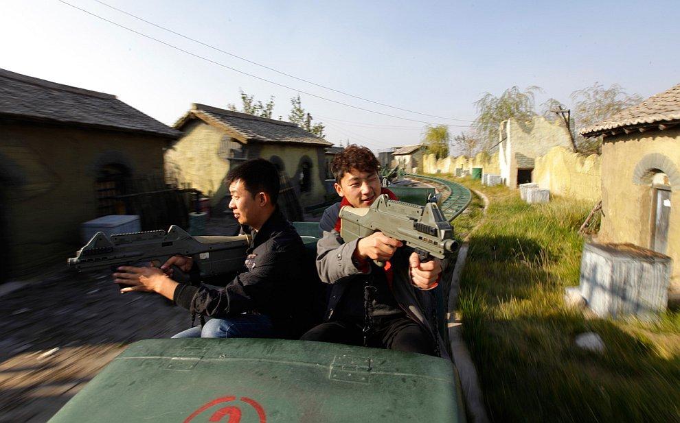 Это интересный тематический парк культуры в провинции Шаньси