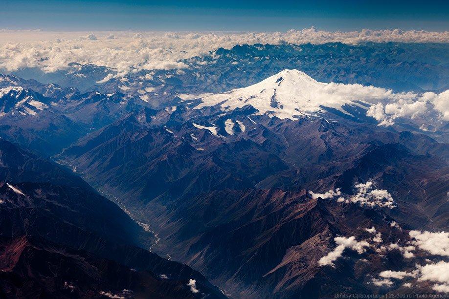 Красавец Эльбрус — высочайшая вершина России