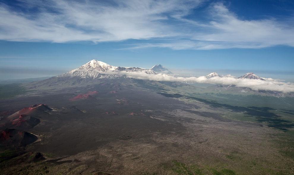 Ключевская группа вулканов