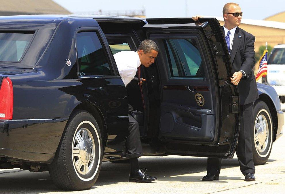 А это машина американского президента