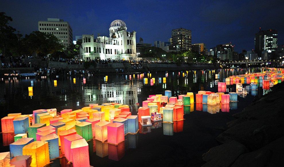Десятки тысяч людей отметили 67-ю годовщину атомной бомбардировки Хиросимы