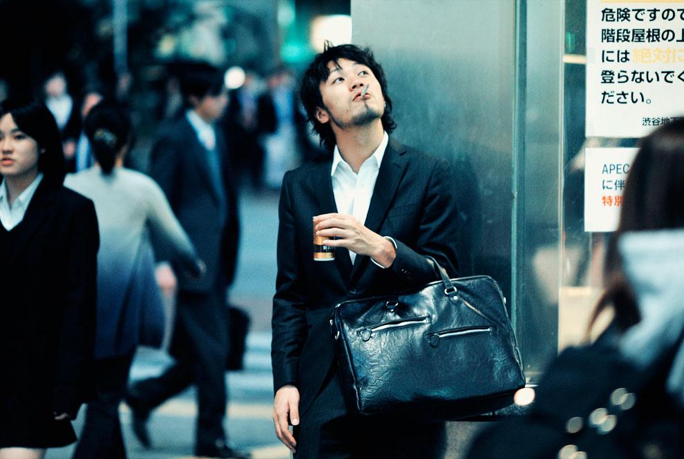 Антитабачный закон в Японии