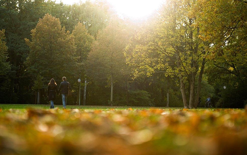 Пришла осень и в Берлин, Германия