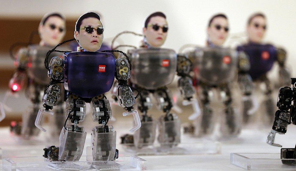 Роботы-танцоры
