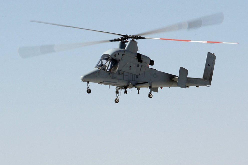Беспилотная версия американского гражданского вертолета Kaman K-MAX