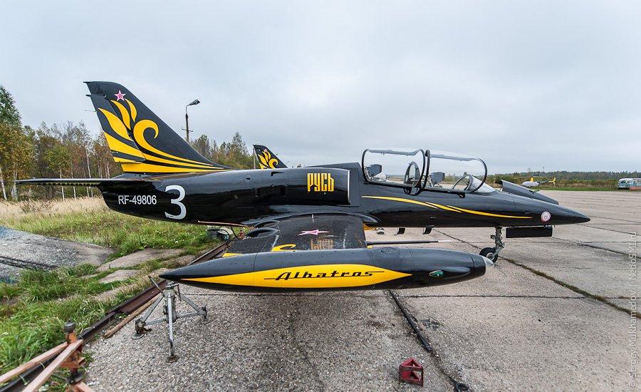 Чехословацкий учебно-боевой самолет Aero L-39 Albatros
